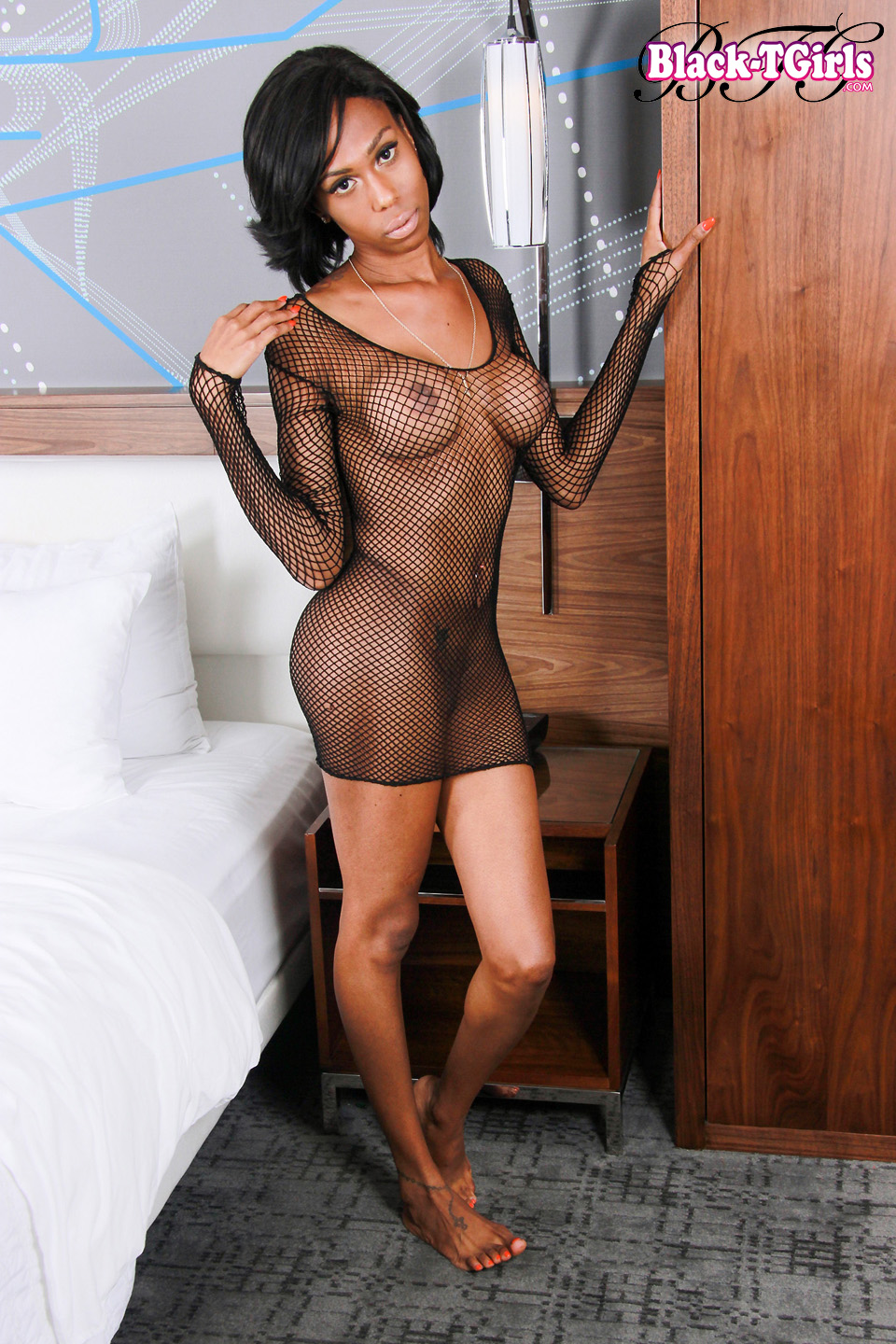 Hot Black Tgirls, Ebony Shemales  Tranny Pornstars-2731